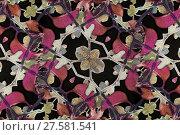 Купить «Floral Arabesque Decorative Artwork», фото № 27581541, снято 20 апреля 2019 г. (c) PantherMedia / Фотобанк Лори