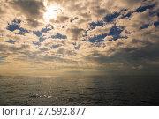 Купить «Seascape on a late-summer morning», фото № 27592877, снято 19 сентября 2019 г. (c) PantherMedia / Фотобанк Лори