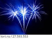 Купить «Colorful fireworks», фото № 27593553, снято 5 июля 2020 г. (c) PantherMedia / Фотобанк Лори