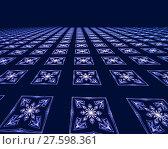 Купить «Abstract digitally generated image tiled floor», фото № 27598361, снято 20 марта 2019 г. (c) PantherMedia / Фотобанк Лори