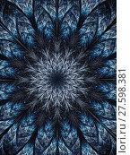 Купить «Abstract digitally generated image textured flower», фото № 27598381, снято 19 июня 2019 г. (c) PantherMedia / Фотобанк Лори