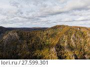Купить «Bodetal im Herbst Harz», фото № 27599301, снято 23 июля 2019 г. (c) PantherMedia / Фотобанк Лори