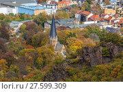 Купить «Bodetal im Herbst Harz», фото № 27599309, снято 23 июля 2019 г. (c) PantherMedia / Фотобанк Лори