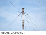 Купить «Aerial platforms for  transmission of radio waves», фото № 27599521, снято 17 августа 2018 г. (c) PantherMedia / Фотобанк Лори