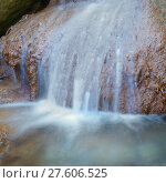 Купить «Waterfall in the forest», фото № 27606525, снято 15 ноября 2018 г. (c) PantherMedia / Фотобанк Лори