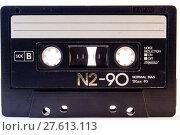 Купить «Cassette Tape», фото № 27613113, снято 20 января 2019 г. (c) PantherMedia / Фотобанк Лори