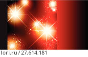 Купить «red dark glowing gradient stars», иллюстрация № 27614181 (c) PantherMedia / Фотобанк Лори