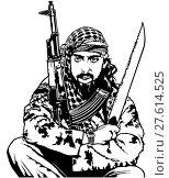 Купить «Sitting Terrorist», иллюстрация № 27614525 (c) PantherMedia / Фотобанк Лори