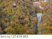 Купить «Bodetal im Herbst Harz», фото № 27614993, снято 23 июля 2019 г. (c) PantherMedia / Фотобанк Лори