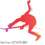 Купить «Skateboarder performing a trick», иллюстрация № 27615881 (c) PantherMedia / Фотобанк Лори