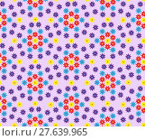 Купить «Floral seamless pattern, can be used as background.», иллюстрация № 27639965 (c) PantherMedia / Фотобанк Лори
