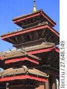 Купить «Jagannath Temple in Kathmandu Durbar Square», фото № 27648149, снято 22 мая 2019 г. (c) PantherMedia / Фотобанк Лори