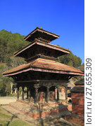 Купить «Historic Buildings in Panauti Nepal», фото № 27655309, снято 19 октября 2018 г. (c) PantherMedia / Фотобанк Лори
