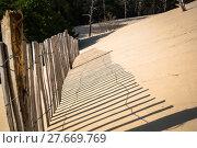 Купить «dune du pilat at 114 metres the highest sand dune in europe near arcachon gironde aquitaine france», фото № 27669769, снято 18 июля 2019 г. (c) PantherMedia / Фотобанк Лори