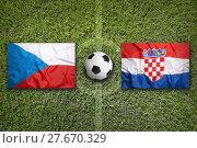 Купить «Czech Republic vs. Croatia, Group D», фото № 27670329, снято 19 февраля 2019 г. (c) PantherMedia / Фотобанк Лори