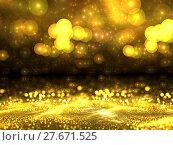 Купить «Abstract digitally generated image golden blur background», фото № 27671525, снято 15 ноября 2018 г. (c) PantherMedia / Фотобанк Лори