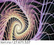 Купить «Abstract digitally generated image mystic spiral», фото № 27671537, снято 25 февраля 2018 г. (c) PantherMedia / Фотобанк Лори