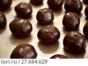 Купить «Chocolate Bon-bon candy», фото № 27684629, снято 23 мая 2018 г. (c) PantherMedia / Фотобанк Лори