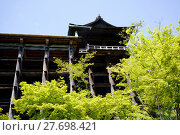 Купить « View of Kiyomizu-dera Temple on a clear blue sky in Kyoto Japan», фото № 27698421, снято 19 июля 2019 г. (c) PantherMedia / Фотобанк Лори