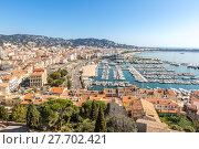 Купить «Cannes France», фото № 27702421, снято 20 февраля 2019 г. (c) PantherMedia / Фотобанк Лори