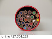 Купить «Colorful pencils», фото № 27704233, снято 11 декабря 2018 г. (c) PantherMedia / Фотобанк Лори
