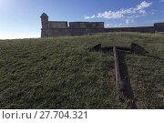 Купить «Castle San Pedro de la Roca del Morro,», фото № 27704321, снято 24 марта 2019 г. (c) PantherMedia / Фотобанк Лори