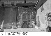 Купить «Santa Maria alla Porta in Milan», фото № 27704697, снято 13 декабря 2018 г. (c) PantherMedia / Фотобанк Лори