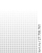 Купить «background with fab gradient of gray pixels», фото № 27708761, снято 19 февраля 2019 г. (c) PantherMedia / Фотобанк Лори