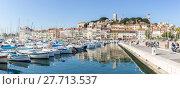 Купить «Cannes Old square France», фото № 27713537, снято 20 февраля 2019 г. (c) PantherMedia / Фотобанк Лори