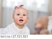 Купить «Baby eight months», фото № 27721921, снято 6 февраля 2018 г. (c) Типляшина Евгения / Фотобанк Лори