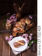 Купить «food fresh dessert breakfast pastry», фото № 27722429, снято 27 июня 2019 г. (c) PantherMedia / Фотобанк Лори