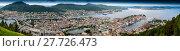 Купить «Panoramic view of Bergen in Norway», фото № 27726473, снято 19 июня 2019 г. (c) PantherMedia / Фотобанк Лори