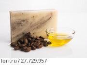 Купить «Coffee soap», фото № 27729957, снято 23 апреля 2019 г. (c) PantherMedia / Фотобанк Лори