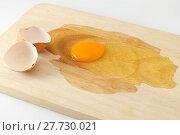Купить «cracked egg», фото № 27730021, снято 25 апреля 2018 г. (c) PantherMedia / Фотобанк Лори