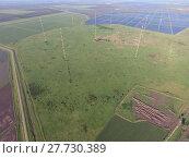 Купить «Masts longwave antennas communication among the rice fields flooded», фото № 27730389, снято 22 января 2019 г. (c) PantherMedia / Фотобанк Лори