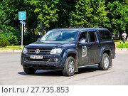 Купить «Volkswagen Amarok», фото № 27735853, снято 7 июля 2012 г. (c) Art Konovalov / Фотобанк Лори