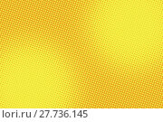 Купить «retro comic yellow background raster gradient halftone», фото № 27736145, снято 21 января 2019 г. (c) PantherMedia / Фотобанк Лори