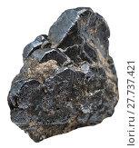 Купить «specimen of Ilmenite isolated on white», фото № 27737421, снято 25 апреля 2019 г. (c) PantherMedia / Фотобанк Лори