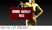 Купить «Cyber Monday Sale», фото № 27738921, снято 25 апреля 2019 г. (c) PantherMedia / Фотобанк Лори
