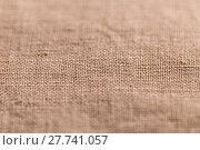 Купить «Brown sheer textured cloth», фото № 27741057, снято 24 августа 2019 г. (c) PantherMedia / Фотобанк Лори