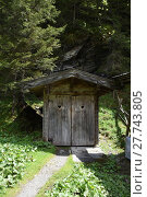 Купить «toilet,toilet cabin,toilet cottage,alm,mountain,public toilets,wooden cabin,outhouse», фото № 27743805, снято 20 мая 2019 г. (c) PantherMedia / Фотобанк Лори