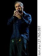 Morrissey performs live at Way Out West Festival (2016 год). Редакционное фото, фотограф Emelie Andersson / WENN.com / age Fotostock / Фотобанк Лори