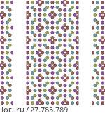 Купить «Multicoloed Circles Geometric Pattern», фото № 27783789, снято 20 апреля 2018 г. (c) PantherMedia / Фотобанк Лори
