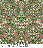 Купить «Geometric Intricate Collage Pattern», фото № 27792513, снято 27 мая 2018 г. (c) PantherMedia / Фотобанк Лори