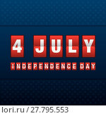 Купить «independence day 4 th july. happy independence day.», иллюстрация № 27795553 (c) PantherMedia / Фотобанк Лори
