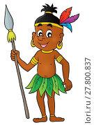 Купить «Aborigine theme image 1», иллюстрация № 27800837 (c) PantherMedia / Фотобанк Лори