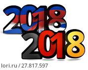 Купить «germany russia 2018 bold font 3d illustration», фото № 27817597, снято 21 сентября 2018 г. (c) PantherMedia / Фотобанк Лори