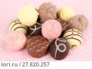 Купить «dessert chocolate truffle chocolates trüffel», фото № 27820257, снято 24 июля 2019 г. (c) PantherMedia / Фотобанк Лори