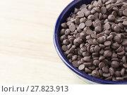 Купить «Tempting Chocolate Chips», фото № 27823913, снято 25 мая 2018 г. (c) PantherMedia / Фотобанк Лори