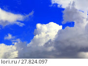 Купить «Image of summer fluffy sky», фото № 27824097, снято 24 октября 2018 г. (c) PantherMedia / Фотобанк Лори